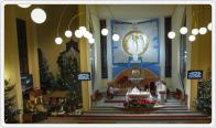 Parafia p.w. Najświętszej Rodziny w Małych Kozach - Szopka 2012, foto: Tomasz Komędera