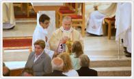 Parafia p.w. Najświętszej Rodziny w Małych Kozach- Konsekracja kościoła